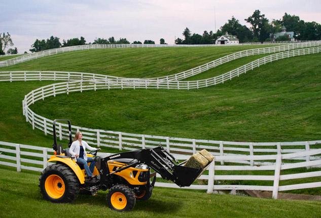 Yanmar Tractor Horse Farm