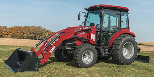 2019 Case IH Farmall® Compact C-Series 55C with Cab