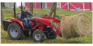 2017 Case IH Farmall® C-Series 45C with ROPS