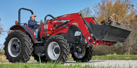 2020 Case IH Farmall® Utility A-Series 115A 4WD with ROPS