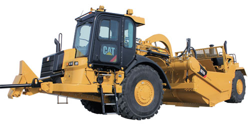 Cat Releases new 621H, 623H and 627H Wheel Tractor-Scrapers