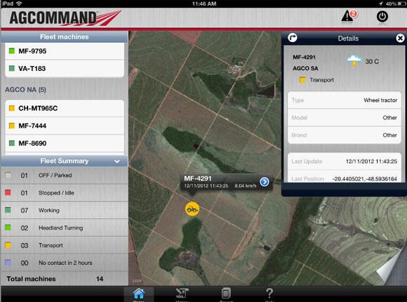 AGCOMMAND App