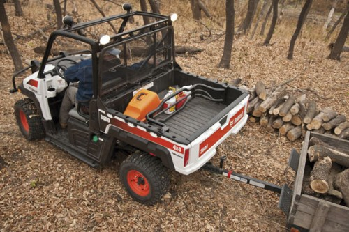 Bobcat 3600 Towing Firewood