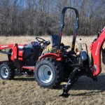 Mahindra Showcasing Tractors with Customer Events