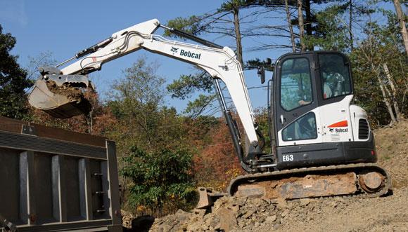 Bobcat E63 Excavator