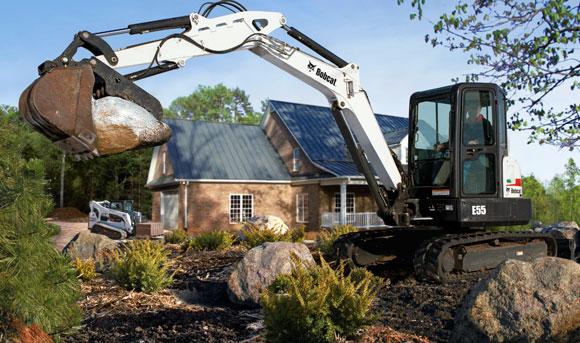2014 Bobcat E55 Excavator