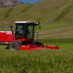 Hesston Releases Tier 4 Final WR9800 Series Self-Propelled Windrowers