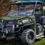 Polaris Unveils New Diesel UTV with HST and Treadle Pedal