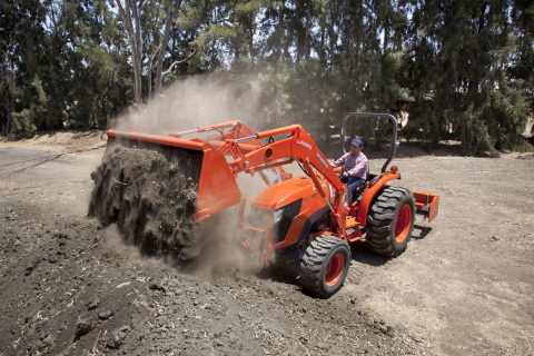 Kubota MX5200 Loader