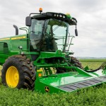John Deere Introduces New Windrower and Platform for 2015