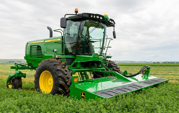2015 John Deere W260 Windrower