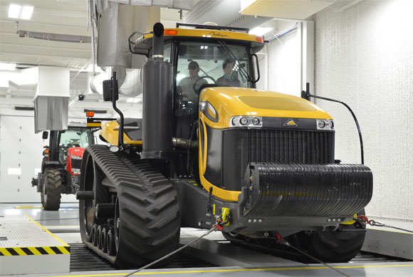 AGCO Chassis Dynamometer Test