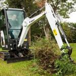 Bobcat Unveils Zero Tail Swing E20 Compact Excavator