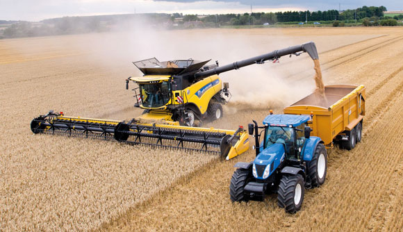 New Holland CR10.90 World Record
