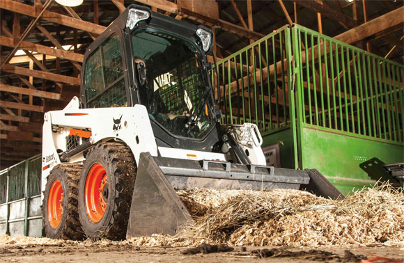 Bobcat S450 Skid Steer Loader Front Right