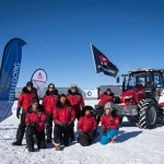 Massey Ferguson Tractor Drives to South Pole