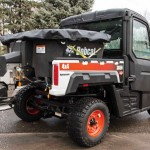 Bobcat Adds Spreader Attachment for Utility Vehicles