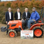 Kubota Celebrates Two Million Tractors Sold in US