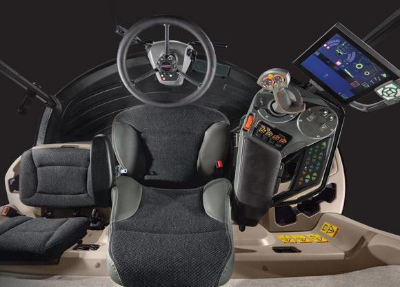 Gleaner S9 Combine Interior