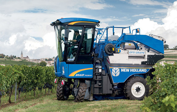 New Holland Braud 7030