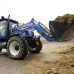New Holland Displays Methane-Powered Tractor Concept
