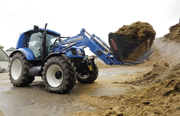 New Holland T6 Methane Tractor