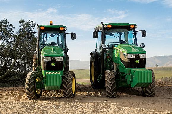 John Deere Unveils Narrow 5G Series Tractors