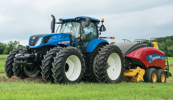 New Holland T7.315 Named Top Tractor at Agritechnica Show