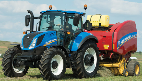 New Holland Updates T5 Series for 2016