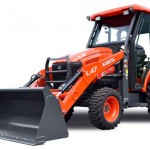 Curtis Introduces Cab for Kubota L47 and M62 Tractor Loader Backhoe
