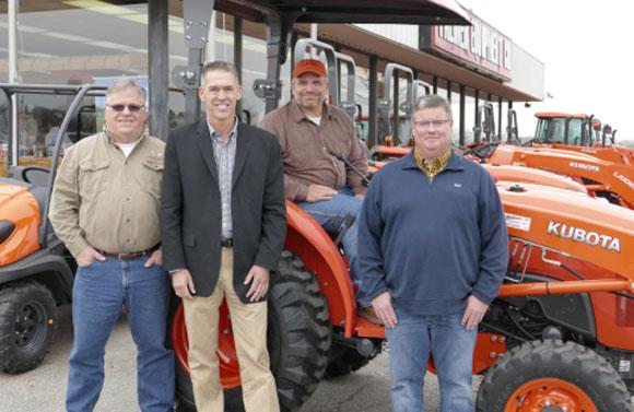 Kutoba Gives L-Series Tractor to U.S. Army Veteran