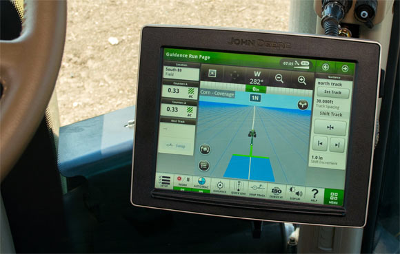 John Deere 4640 Display