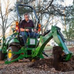 John Deere Introduces Improved Backhoe and Loader for CUTs