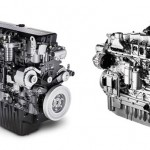FPT Industrial Displays Engine Line For Case IH Vehicles at Farm Progress Show