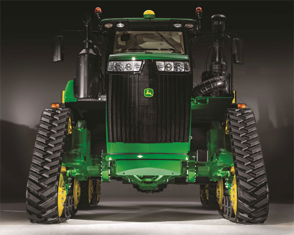 John Deere Adds New Narrow Track Versions for 9RX Tractor Lineup