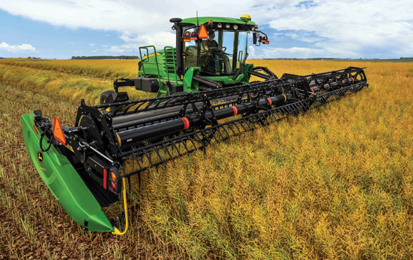 John Deere W170 Windrower Preview