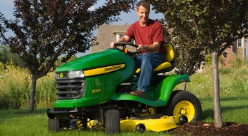 2012 John Deere Select Series X324 AWS Review