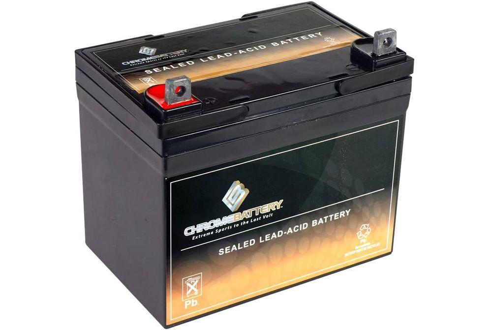 Chrome Battery SLA
