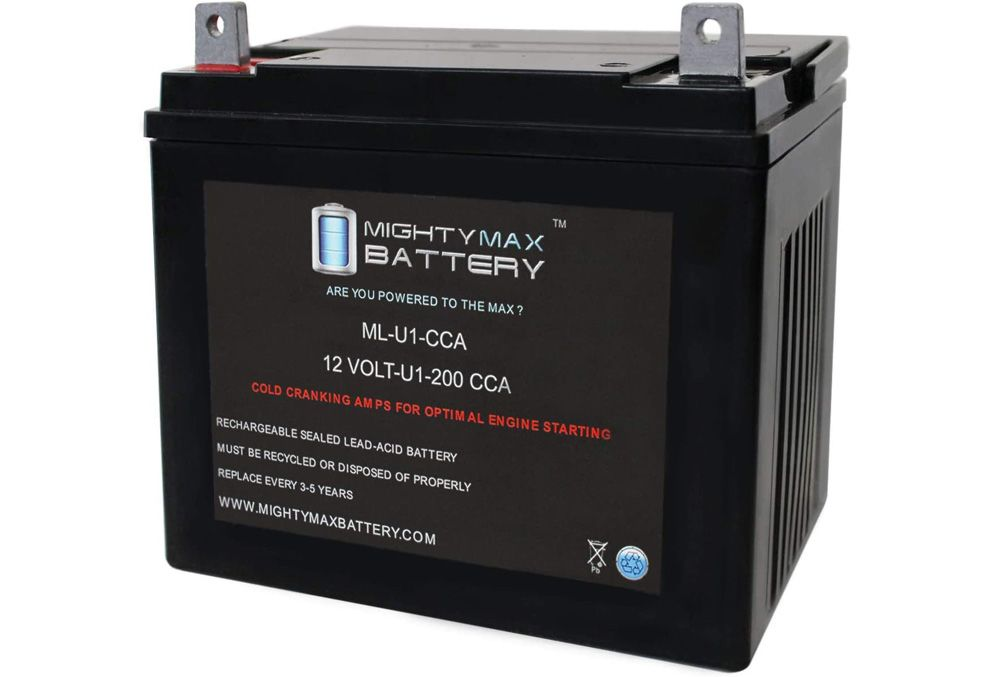 Mighty Max Lawn Tractor Battery