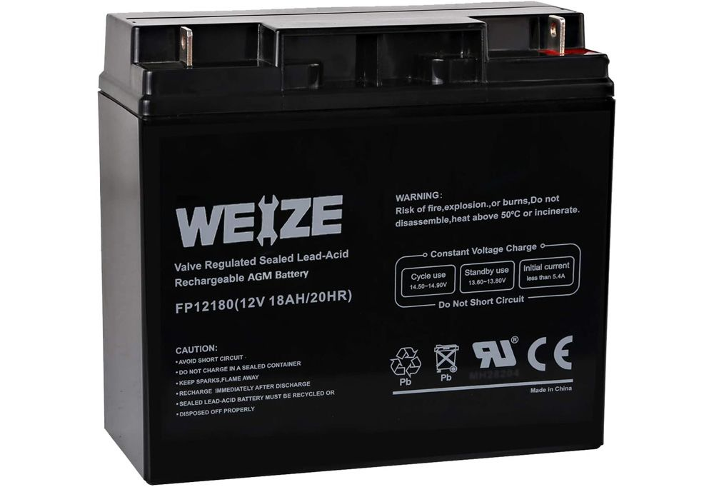 Weize Lawn Tractor Batteries