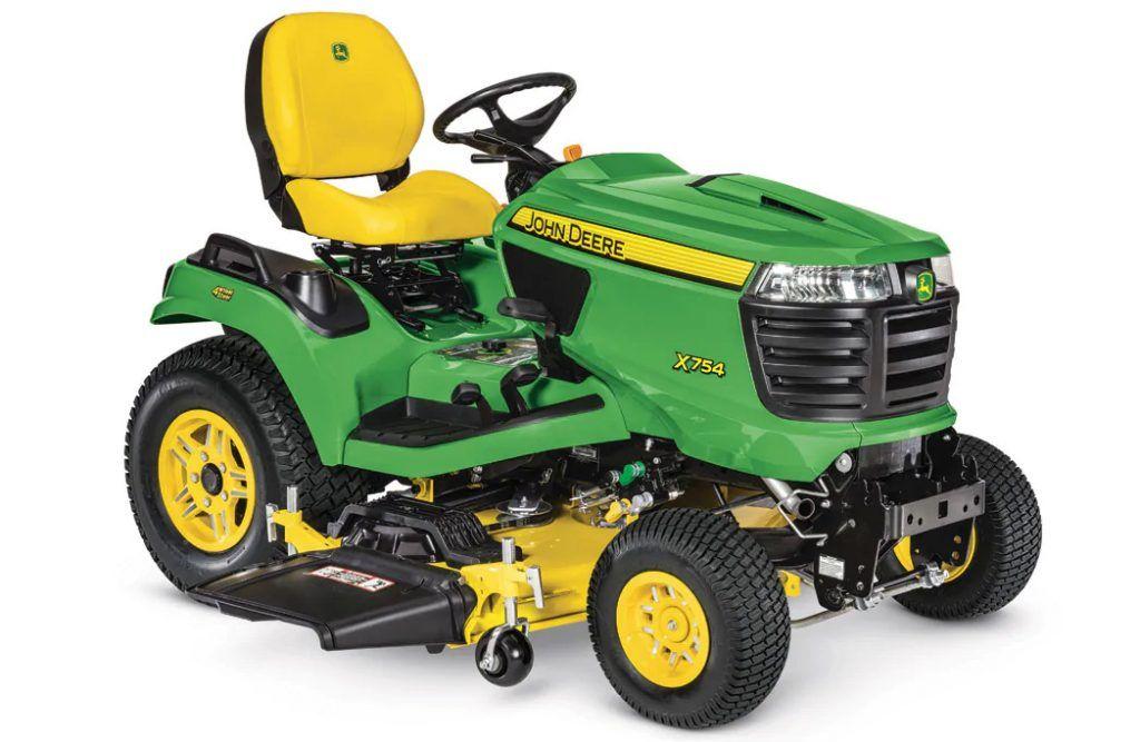 John Deere Lawn Tractors - X754