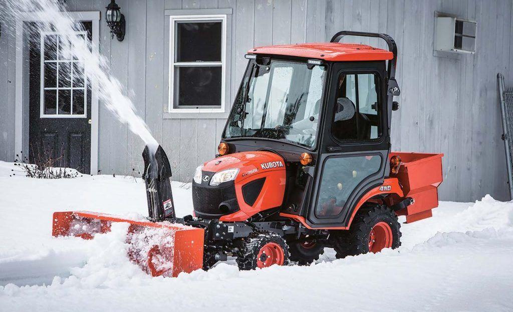 Kubota BX2680 Snow Removal